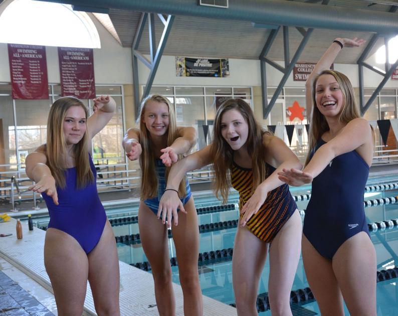 Candid swim meet - 3 part 8