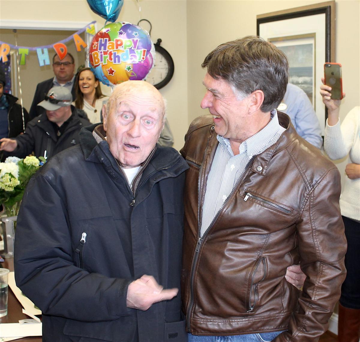 Leo Gallaro 85th Birthday At Safeway