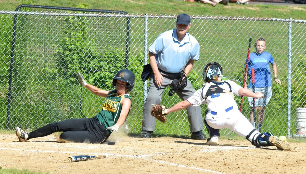 Lions Indians softball