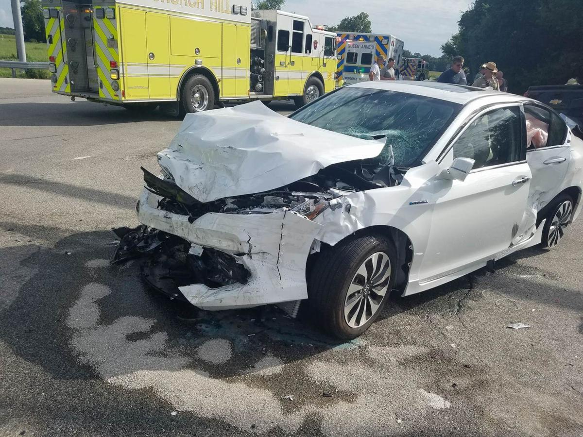 Two flown out after crash at 405/301 | Police and Fire