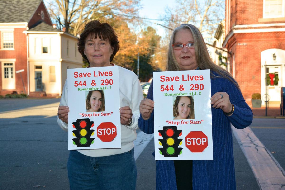 Community pushes for solid red traffic light at deadly intersection
