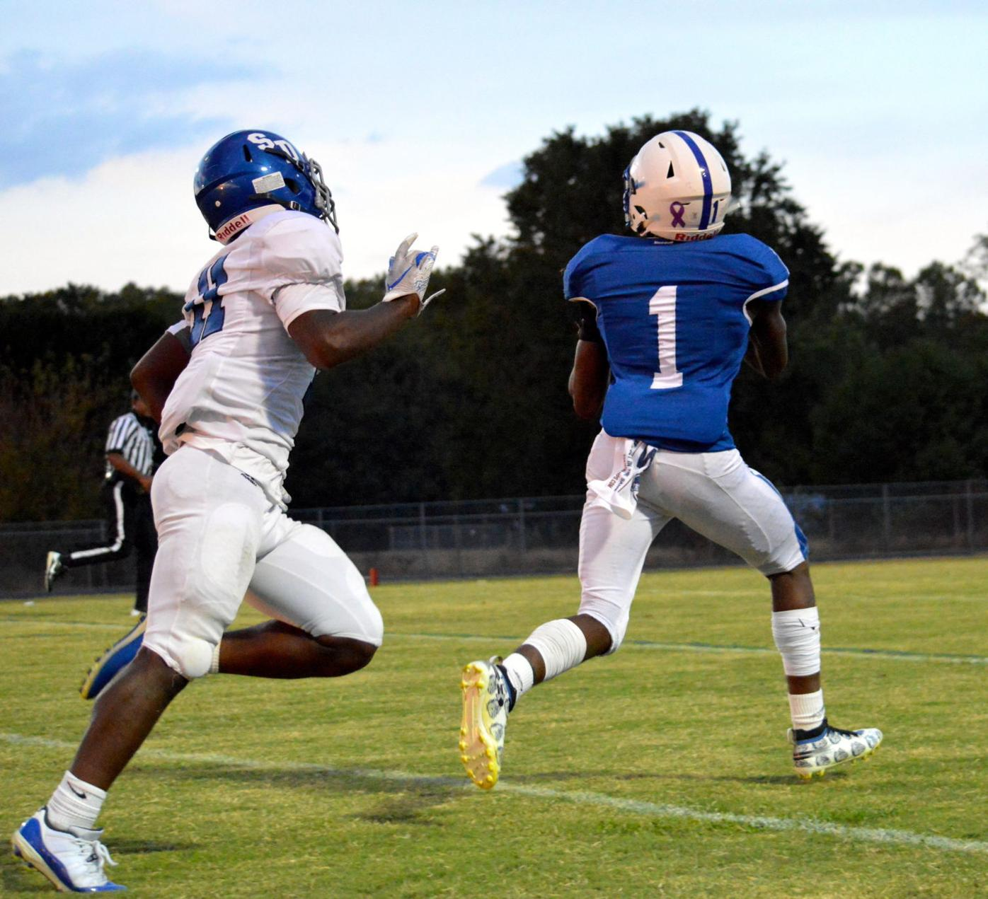 High School Football: Stephen Decatur at North Caroline