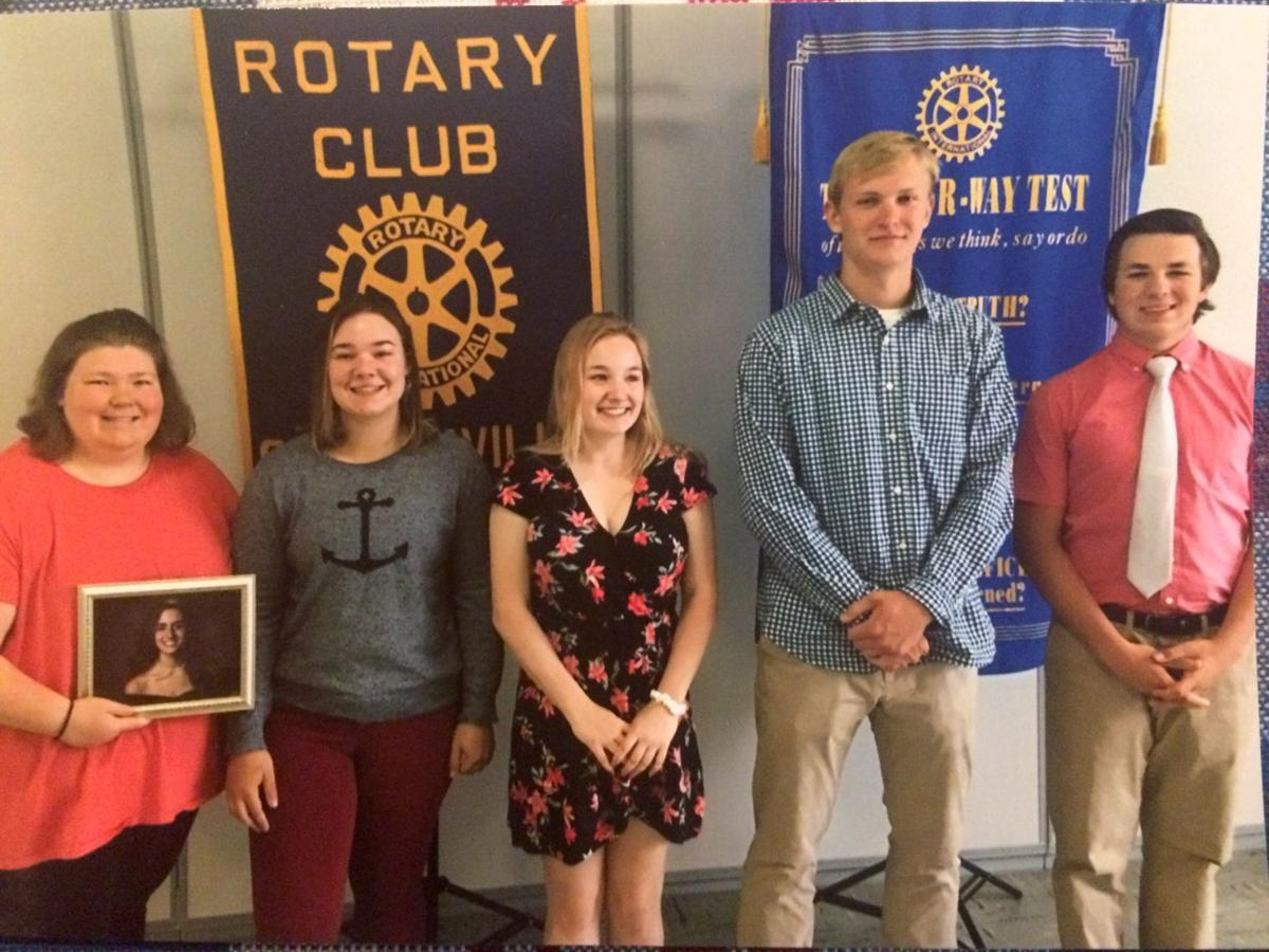 QA seniors recognized by Centreville Rotary
