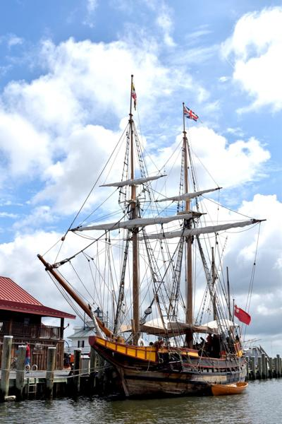 Museum to build replica of 1630s ship Maryland Dove