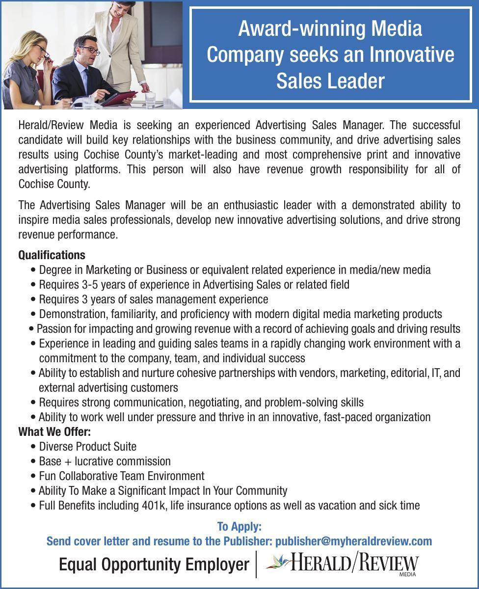 Hiring Sales Leader
