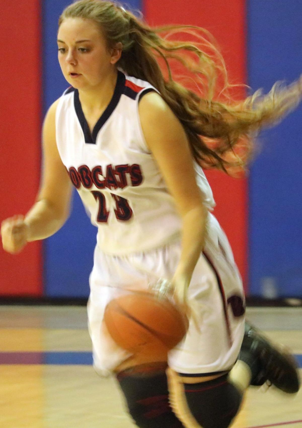 Benson girls basketball vs Tombstone