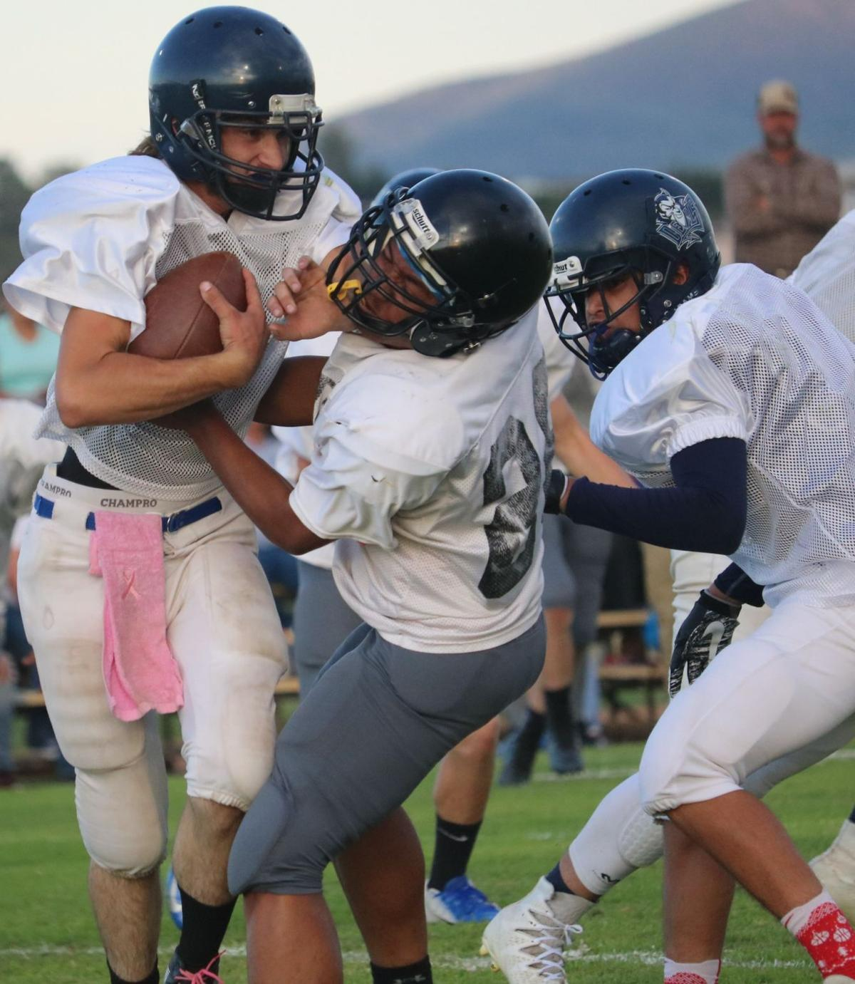 Tombstone Football Scrimmage 2019 01
