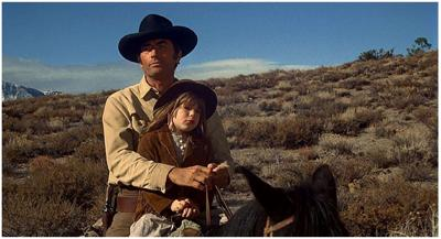 Gregory Peck and Dawn Lyn