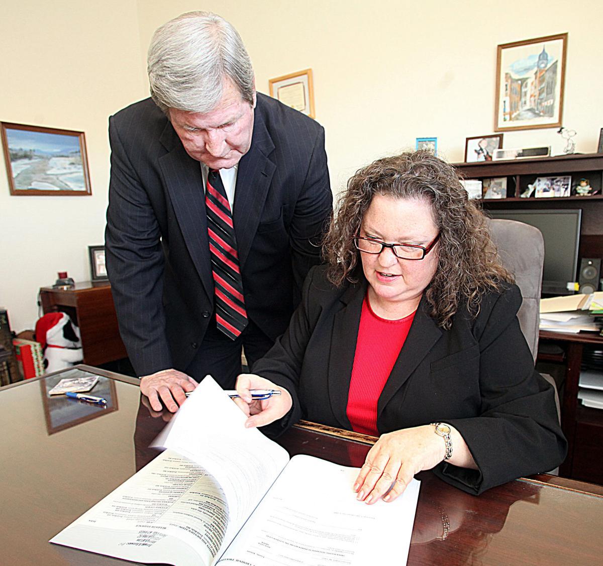 Legal profession binds Borowiecs together