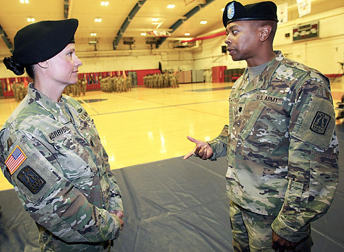Fort Huachuca battalion employs semaphore in change-of-command ceremony