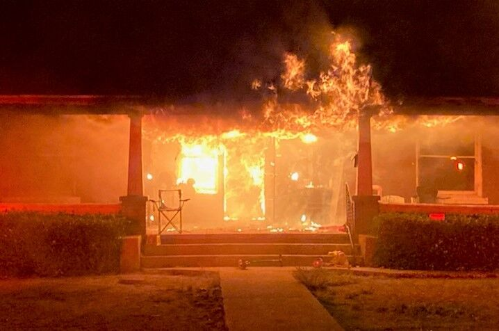 Local family loses home in fire