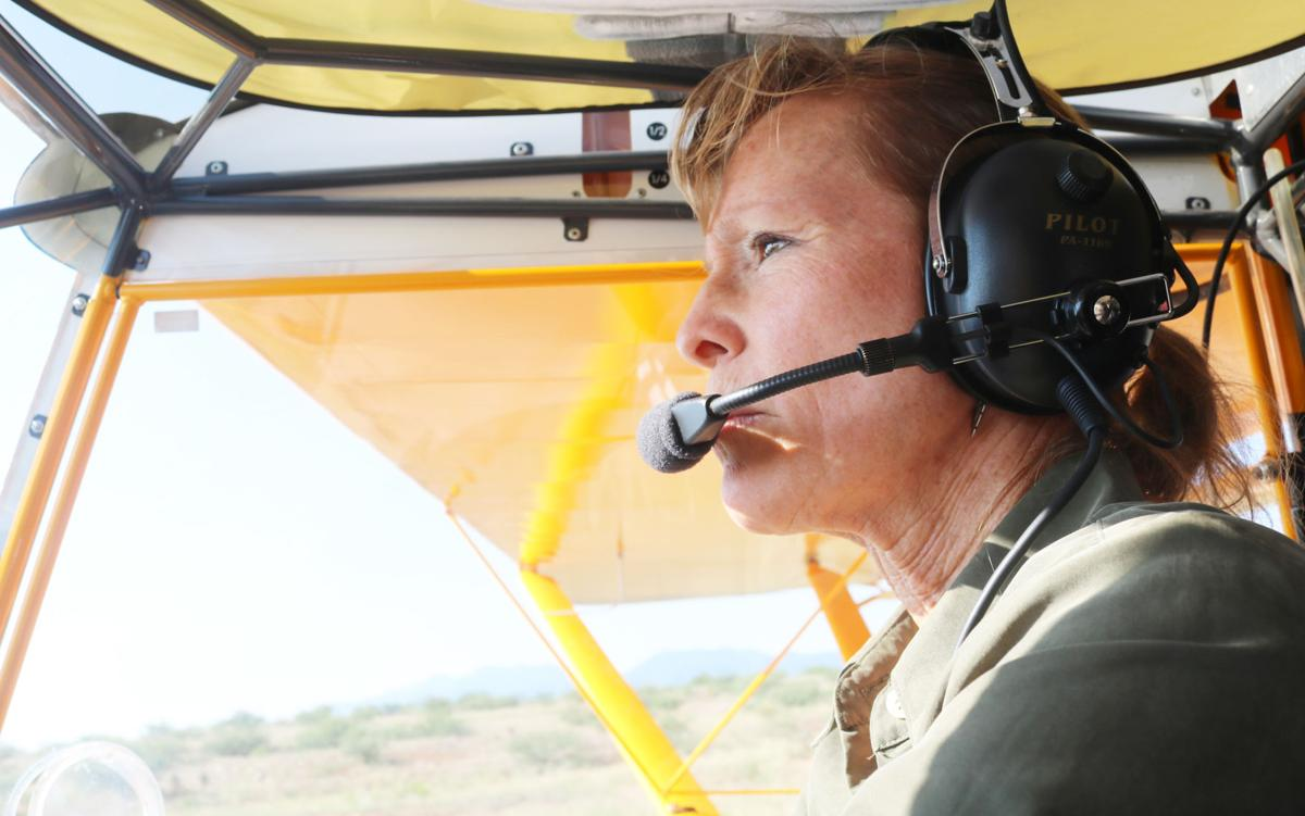 Local woman feeds soul, teaches her love to aspiring pilots