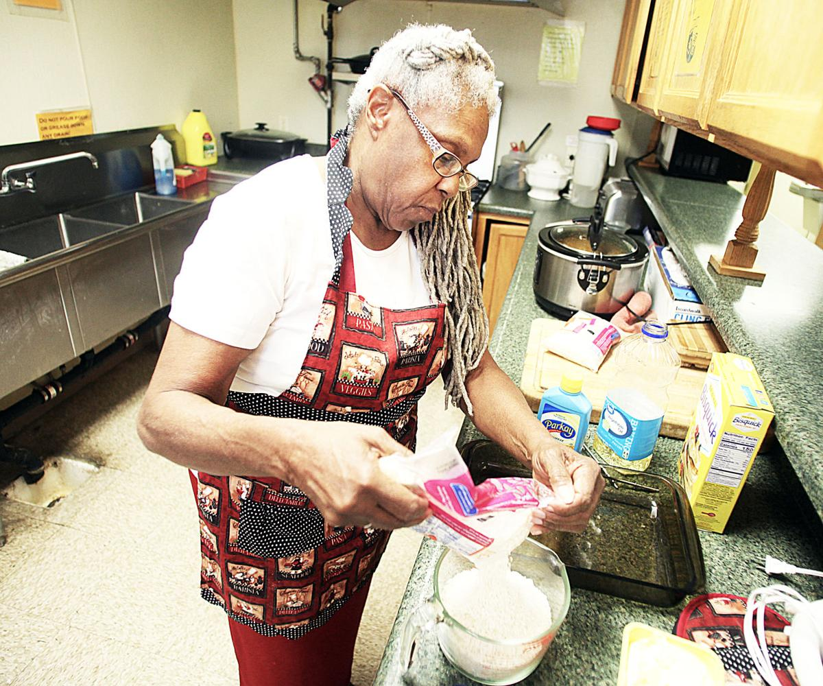 Hanging up her apron: Longtime volunteer cook makes last meal at shelter, turns to her other activities