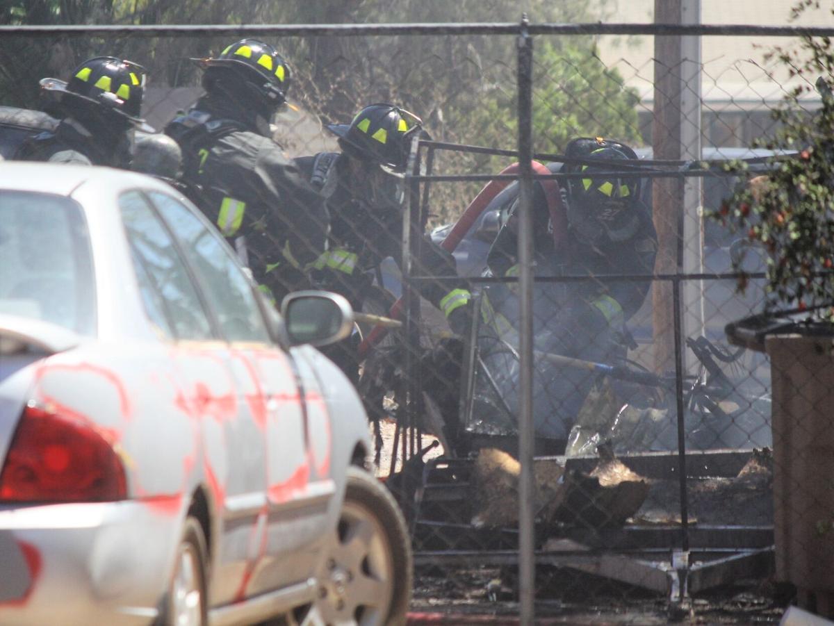 DFD battles fire Sunday