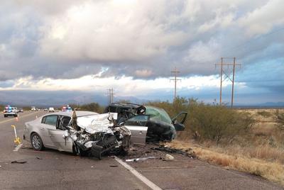Crashed vehicles