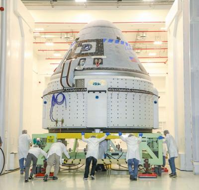 CCP Boeing CST-100 Starliner Processing