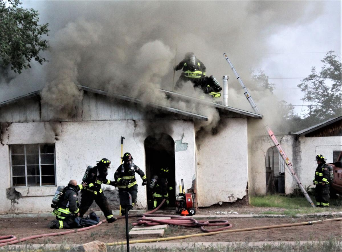Fire destroys local residence