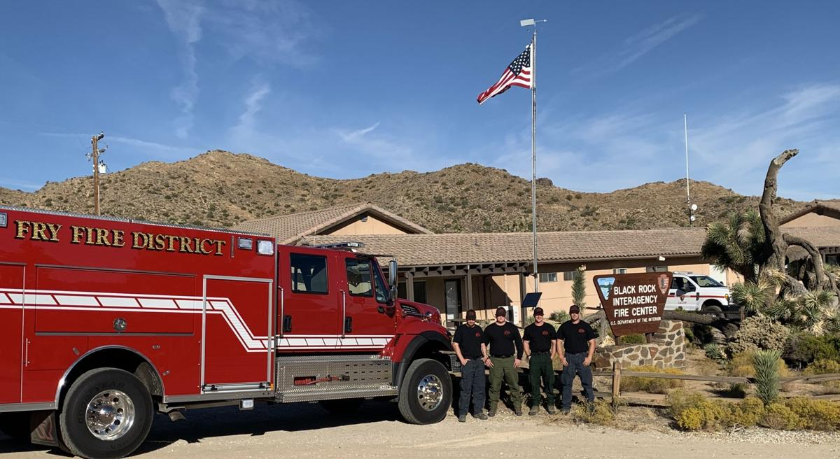 fry fire district in california