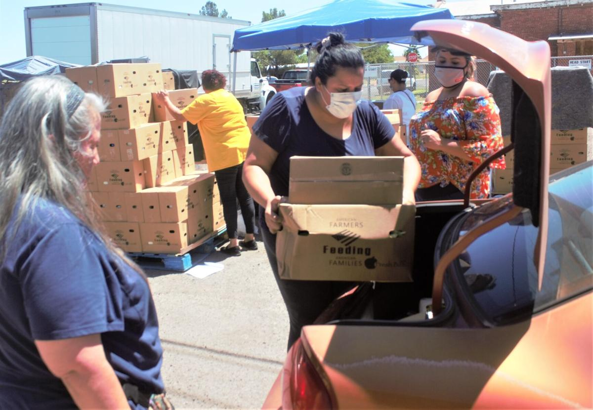 Local church helps feed Douglas