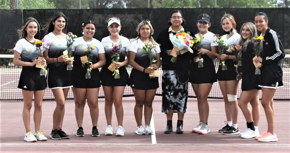 DHS tennis concludes regular season