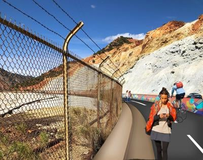 Draft plans for Bisbee bike, pedestrian path available for view