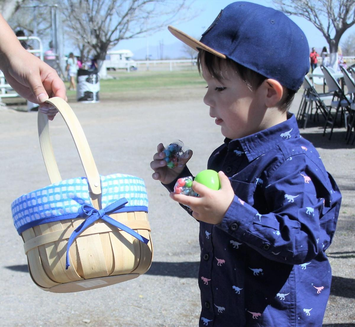 Easter Egg hunt attracts a crowd
