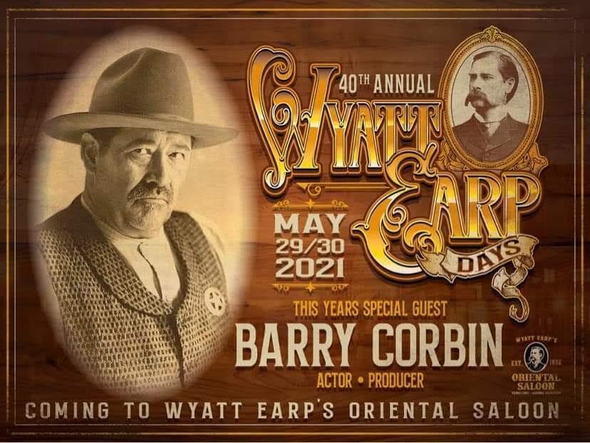 Wyatt Earp Days -- poster