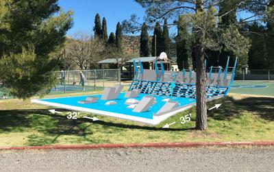 Public outdoor fitness center construction begins Monday