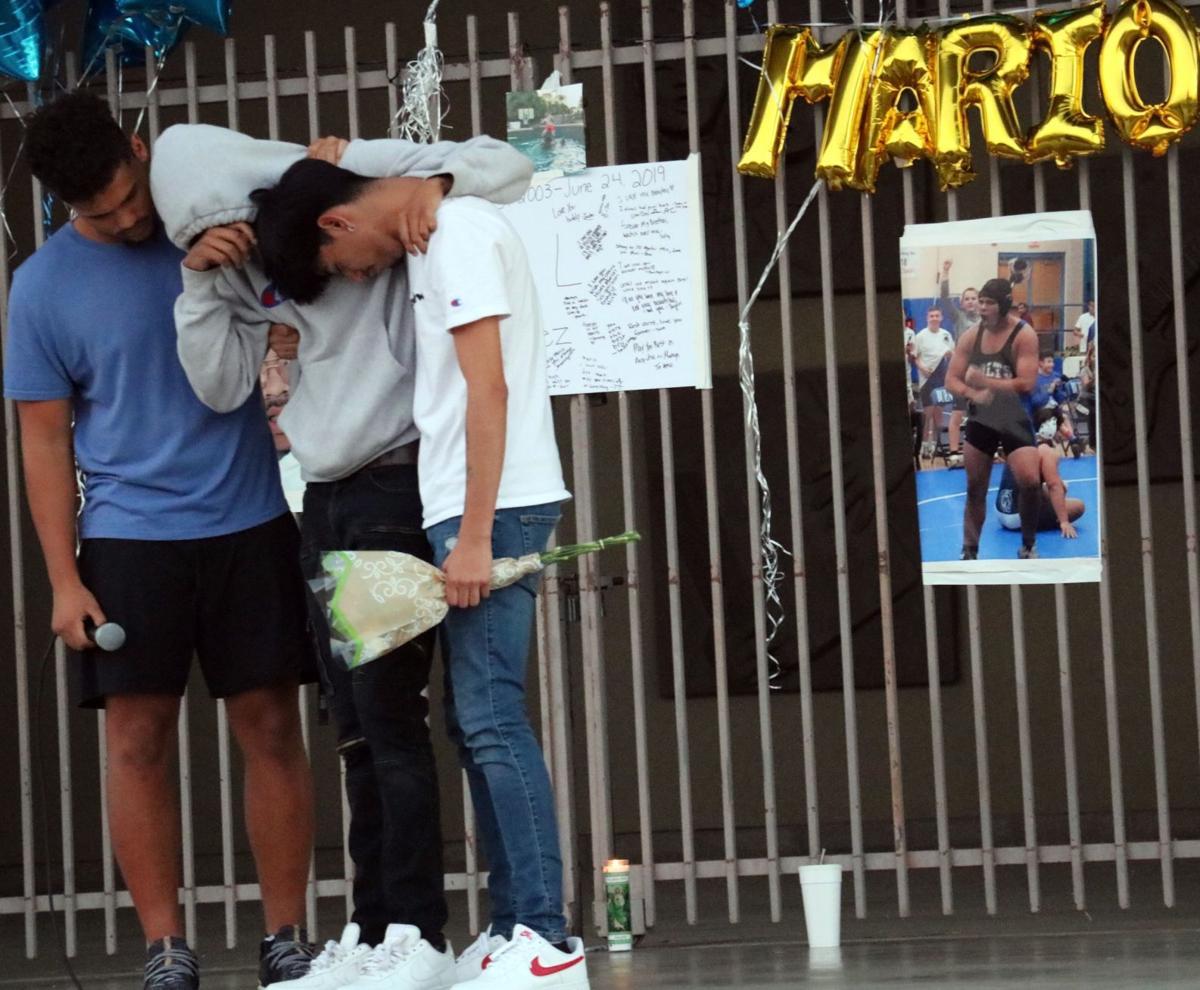 Mario Lopez vigil 1