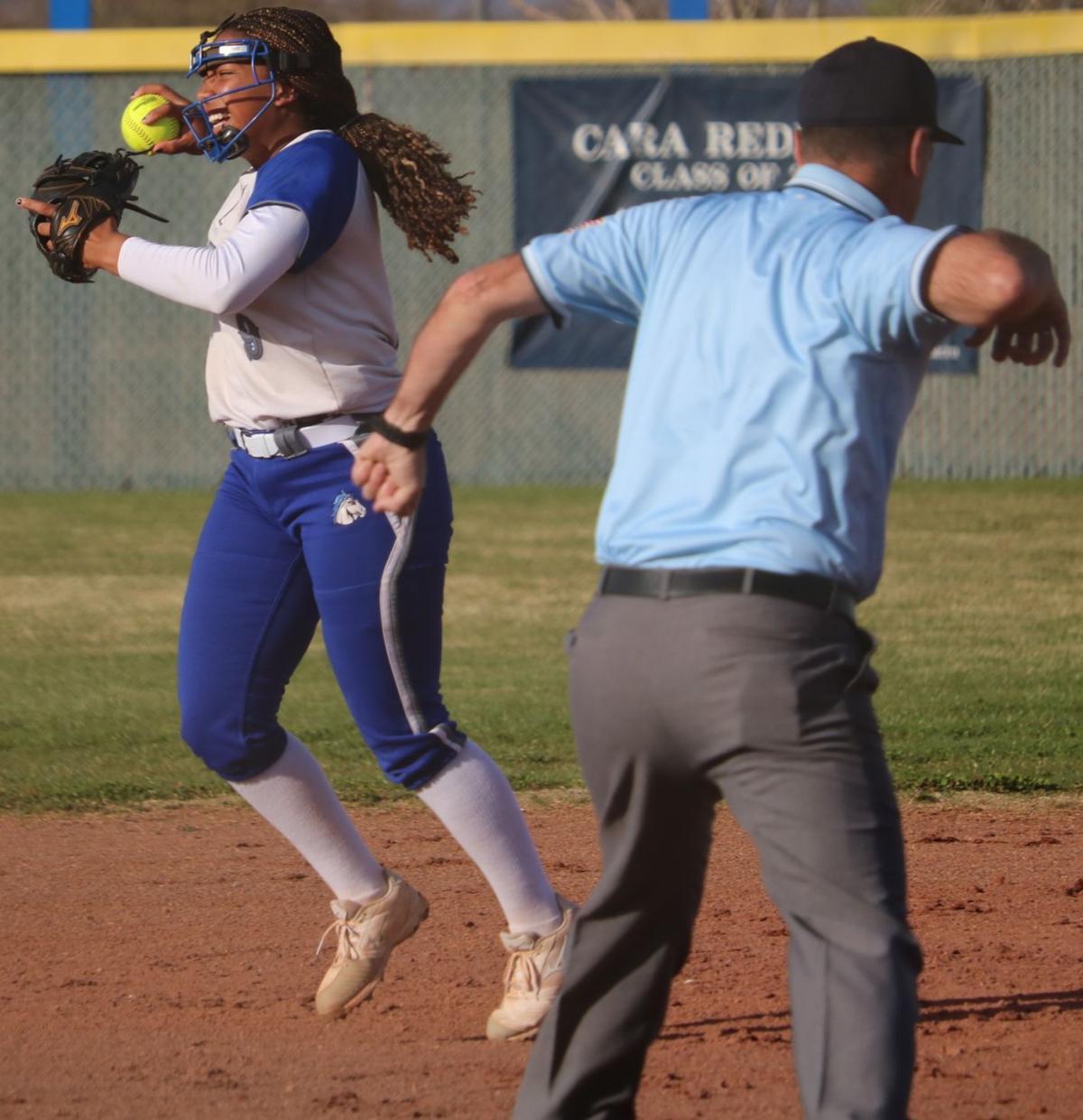 Buena softball vs Desert View