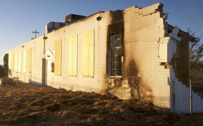 Arrest made in Huachuca City church arson case