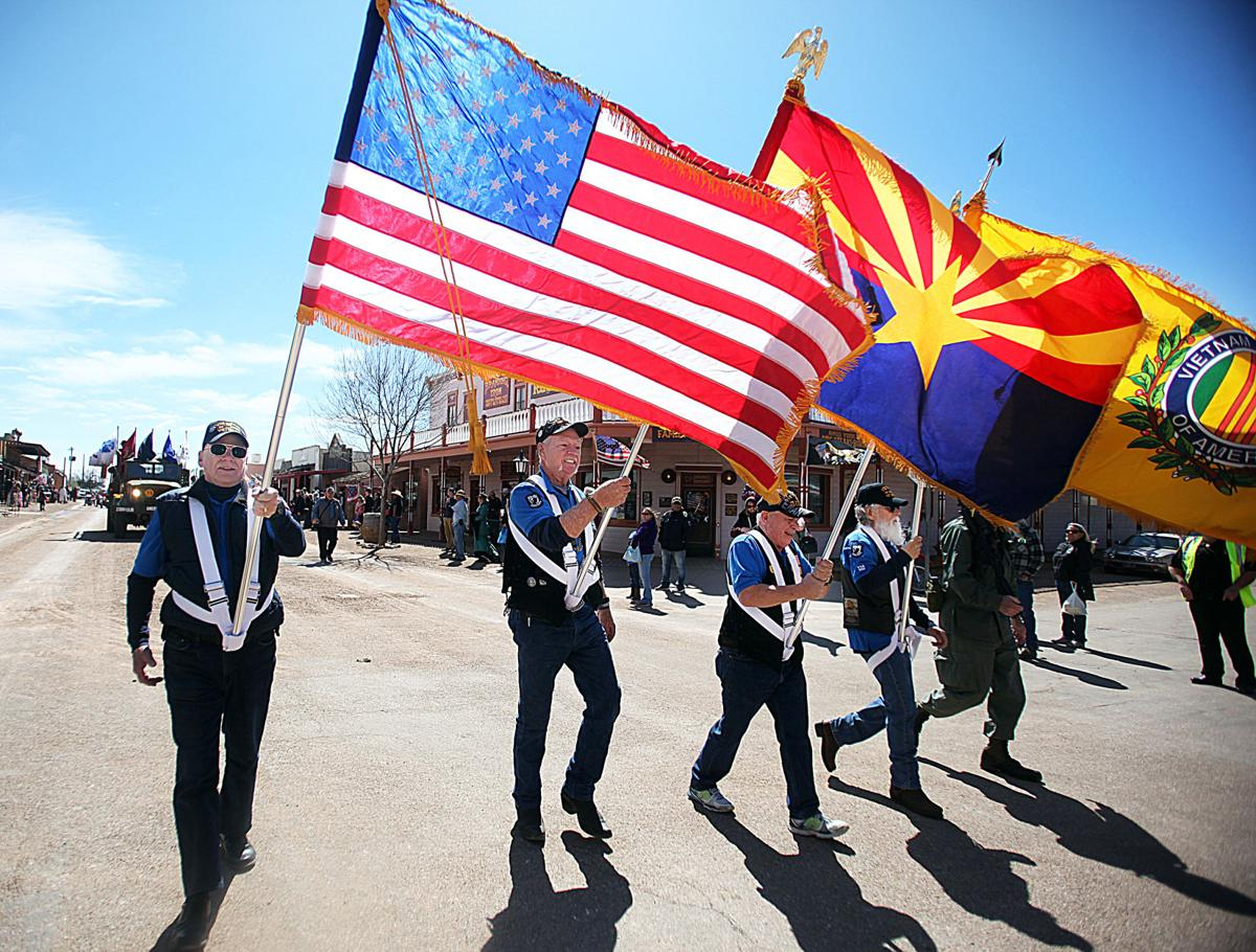 Parade with a kick: Wild West Days pays tribute to men, women of the military