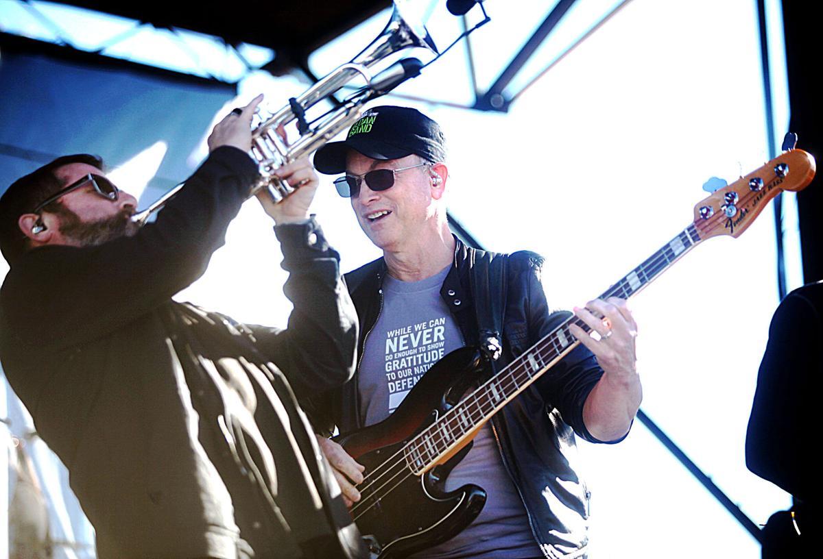 Lt. Dan and his band rock Fort Huachuca