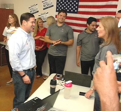 Ducey beats back Garcia challenge, wins 2nd term as governor