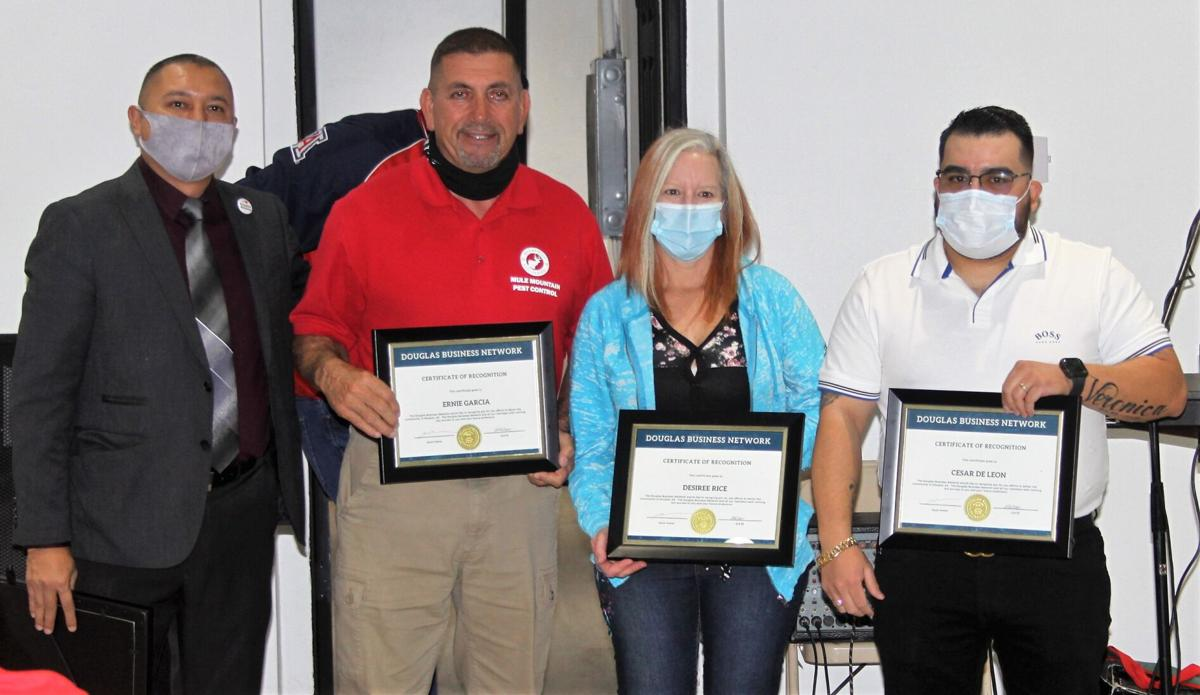 Local businesses recognized at DBN mixer