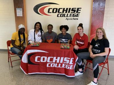 Six Apaches sign to play at the next level