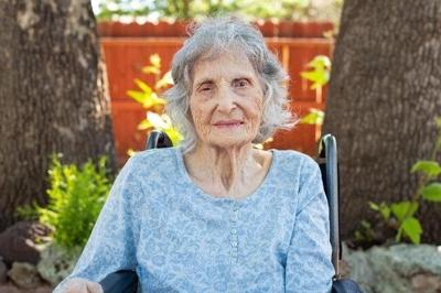 Louise Rhoades, 99