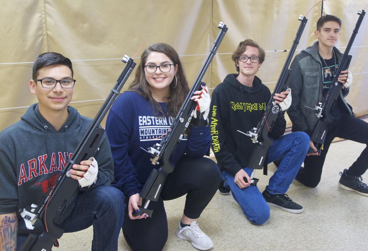 Yellow Jackets win state JROTC rifle competition