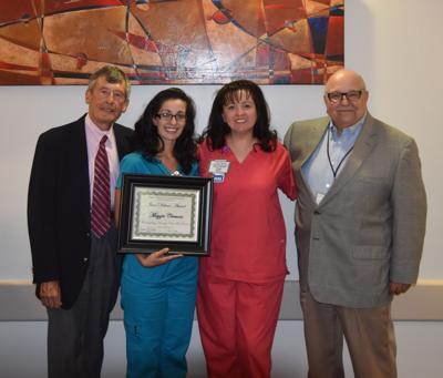 Maggie Clemons earns nursing award