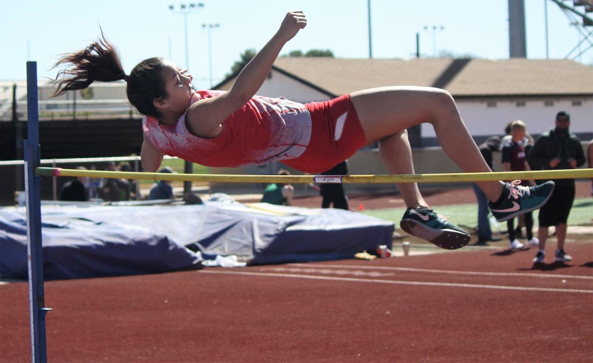 Bisbee Track: Yasmin Morales High Jump