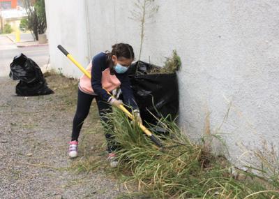 Douglas residents assist in clean-up effort