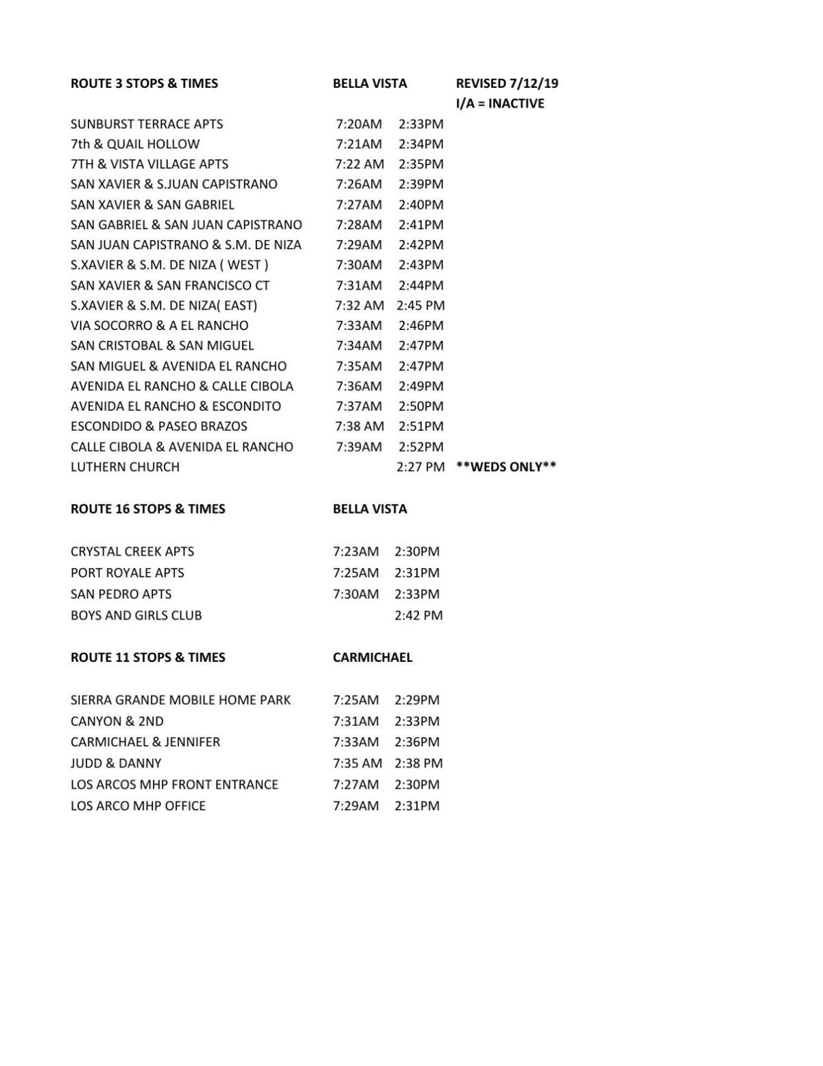 Svusd Calendar.Svusd Bus Schedules Now Available In The Classroom