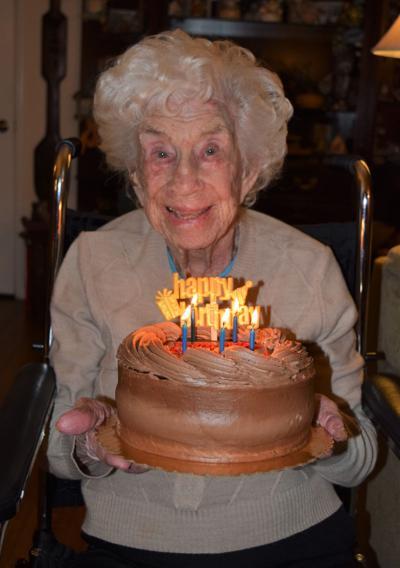 Felizitas (Faye) M. Bone, 99