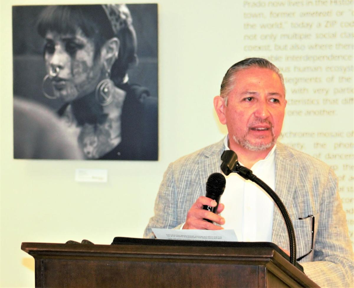 Photographic exhibit on display at Mexican Consulate