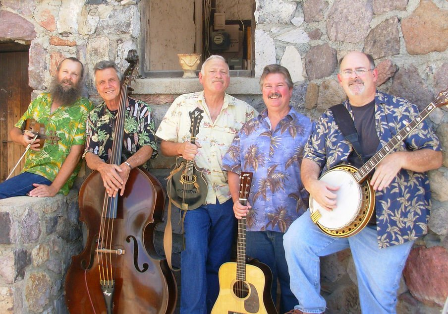 renowned bluegrass band playing at the arizona folklore preserve recreation. Black Bedroom Furniture Sets. Home Design Ideas