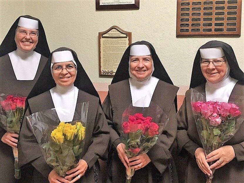Douglas says goodbye to the Carmelite Sisters