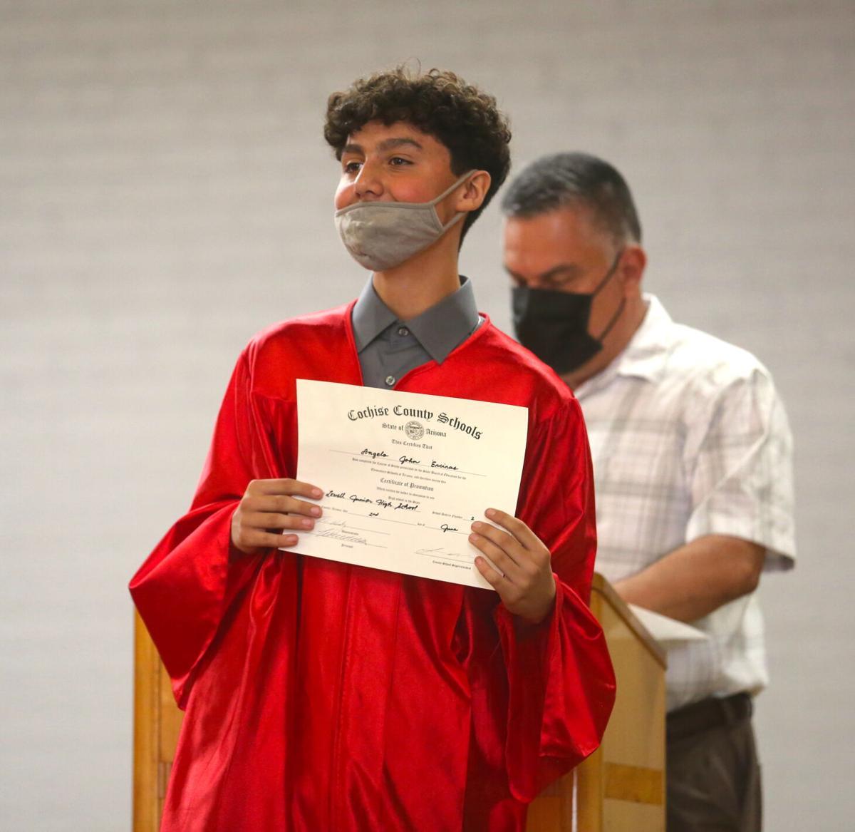 Bisbee Summer Program Graduation 2