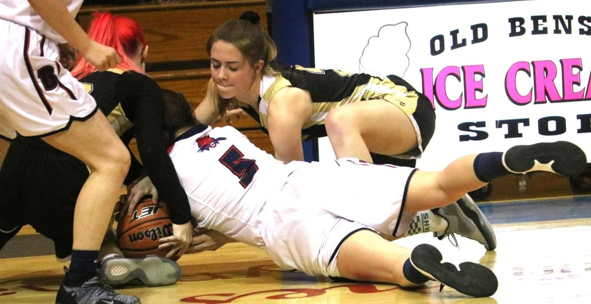 Tombstone girls basketball at Benson