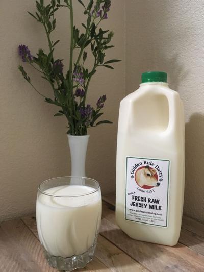SV farmers market milk