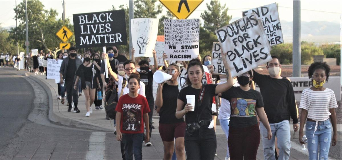 Douglas shows its support at BLM protest